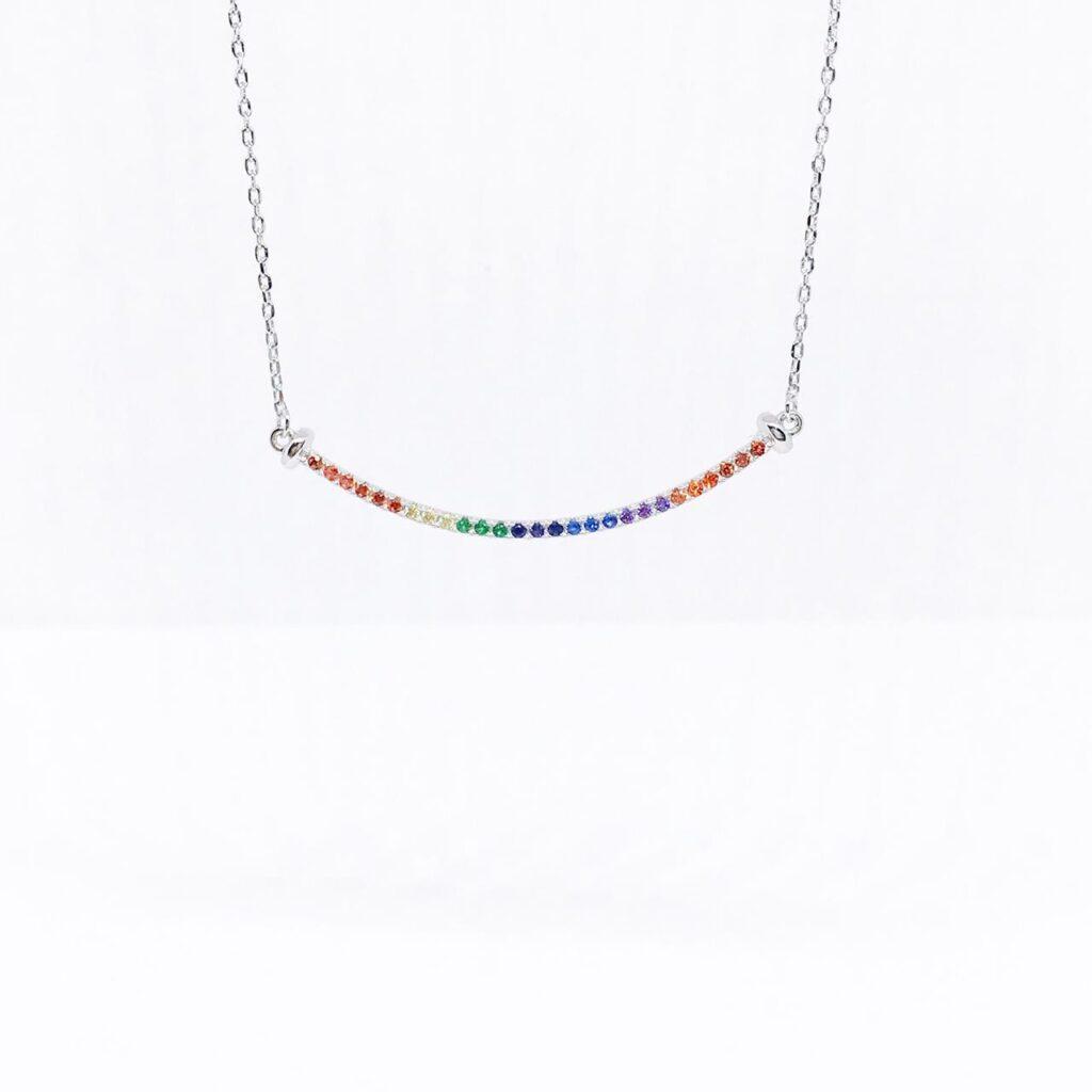 Choker Barra Rainbow